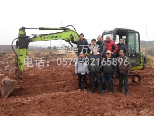 挖掘機畢業照2